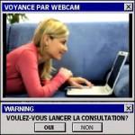 Exemple de consultation ésotérique via cam